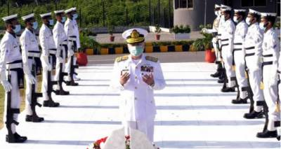 پاک بحریہ نے 55 واں یومِ دفاع عقیدت اور جوش و جذبے سے منایا
