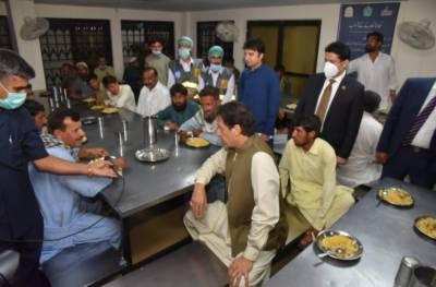 وزیر اعظم عمران خان کا ترلائی میں ماڈل پناہ گاہ کا دورہ