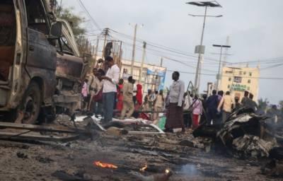 صومالیہ: خودکش حملے میں 5 فوجی ہلاک، ایک امریکی فوجی زخمی