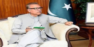 کراچی کی تاجربرادری قومی معیشت میں کلیدی کردار ادا کررہی ہے:صدرڈاکٹرعارف علوی