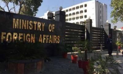 لائن آف کنٹرول پر سیز فائر کی پھر خلاف ورزی، بھارتی ناظم الامور دفترخارجہ طلب