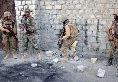 سیکیورٹی فورسز کی وزیرستان میں کارروائی، کمانڈر سمیت 4 دہشت گرد ہلاک