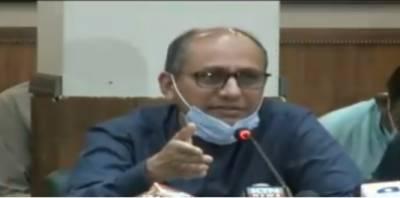 کراچی:بچوں کی صحت پرائیوٹ اسکولز کے نقصانات اور تعلیم سے زیادہ اہم ہے ,سعید غنی