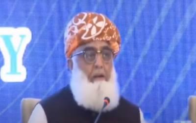 فیصلہ کریں اسمبلیوں سے متستعفی ہوں گے، مولانا فضل الرحمٰن