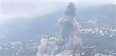 لبنان پھر خوفناک دھماکوں سے لرز اٹھا