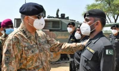 دشمن کے عزائم خاک میں ملانے کی مکمل دفاعی صلاحیت رکھتے ہیں: آرمی چیف جنرل قمر جاوید باجوہ