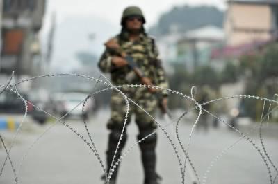 مقبوضہ کشمیر : ضلع پلوامہ میں بھارتی فورسز نے ایک کشمیری نوجوان کو شہید کر دیا۔