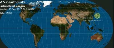 جاپان میں 5.3 شدت کا زلزلہ