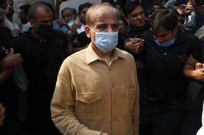 منی لانڈرنگ کیس: شہباز شریف درخواست ضمانت مسترد ہونے پر ایک بار پھر گرفتار