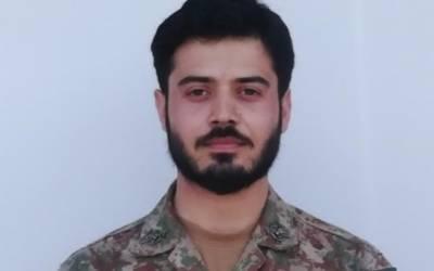 سیکیورٹی فورسز کے قافلے پر دہشتگردوں کا حملہ, کیپٹن عبداللہ ظفر شہید