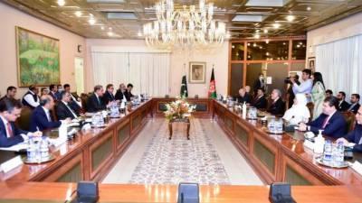 افغانستان کا افغان امن عمل میں کردار ادا کرنے پر پاکستانی قیادت کا شکریہ
