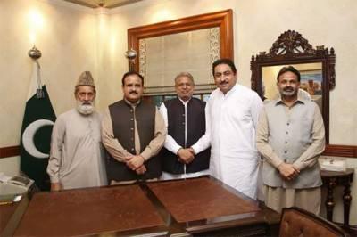 لیگی اراکین پنجاب اسمبلی نے وزیر اعلیٰ عثمان بزدار سے ملاقات