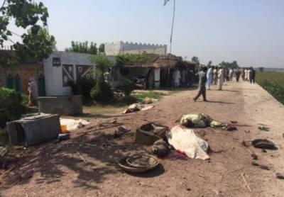 نوشہرہ: بارودی مواد پھٹنےسے دھماکہ ، 4افراد جاں بحق