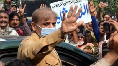 احتساب عدالت سے شہباز شریف کا 14 روزہ جسمانی ریمانڈ جاری