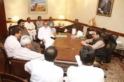 وزیراعلیٰ پنجاب سے اراکین صوبائی اسمبلی کی ملاقات، حلقوں کے مسائل سے آگاہ کیا
