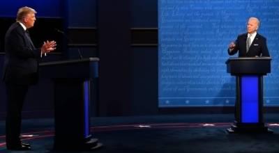 ٹرمپ-جو بائیڈن کا پہلا مباحثہ، ایک دوسرے پر ذاتی حملے