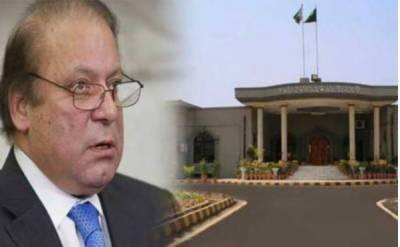 نوازشریف کا رویہ انتہائی شرمناک، سارے نظام کو دھوکا دیکرچلا گیا: اسلام آباد ہائیکورٹ