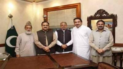 (ن)لیگ کاوزیراعلی پنجاب سے ملاقات کرنے والے مسلم لیگ(ن)کے 5 ارکان کو پارٹی سے نکالنے کا فیصلہ
