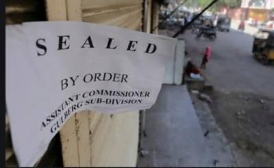 کراچی،ایس او پیزکی خلاف ورزی،10سے زائد ہوٹل، ریسٹورنٹس سیل