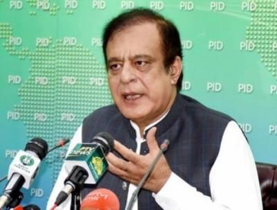 اپوزیشن رہنماؤں کے خلاف غداری کے مقدمے کے اندراج میں حکومت کا لینا دینا نہیں: وفاقی وزیر شبلی فراز