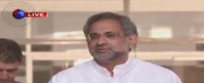 وزرا جو مرضی کہیں غداری کے مقدمے کے پیچھے وزیراعظم ہیں:شاہد خاقا ن عباسی