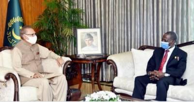 صدر کا پاکستان اورنائیجیریاکے درمیان مختلف شعبوں میں تعاون کے فروغ کی ضرورت پرزور