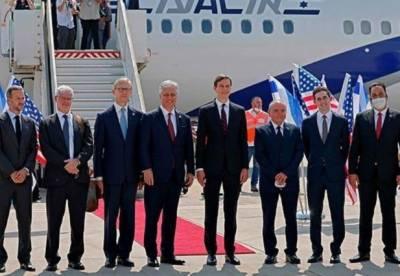 متحدہ عرب امارات کی پہلی مسافر پرواز اسرائیل پہنچ گئی