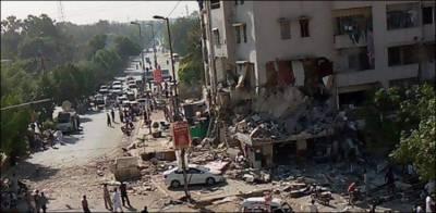 ایس بی سی اے کا دھماکے والی عمارت سے متعلق اہم بیان