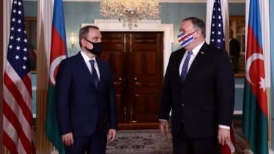 امریکہ نے آذربائیجان اور آرمینیا کے درمیان سیز فائر کا دعویٰ کر دیا