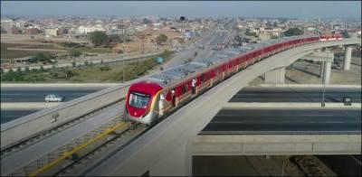 لاہورمیں شہریوں کے لئے اورنج لائن ٹرین سروس کا آغاز