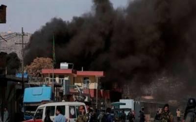 افغانستان:خوست شہر میں پولیس اڈے پر موٹربم دھماکہ،2افرادہلاک،25 زخمی