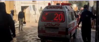پشاور کی مسجد میں دھماکا، 8 افراد شہید، 112 زخمی