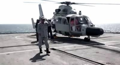 پاک بحریہ کا شمالی بحیرہ عرب میں سطح سمندر اور ہوا سے اینٹی شپ میزائلز فائرنگ کا کامیاب مظاہرہ
