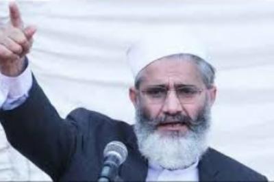 کیا حکومت کا فرض نہیں تھا کہ مدرسہ اور مسجد کو سیکیورٹی دیتے، سراج الحق کا قومی اسمبلی میں سوال