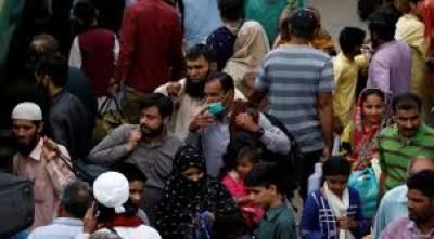 کراچی میں ماسک پہننے کا رجحان نہ ہونے کے برابر