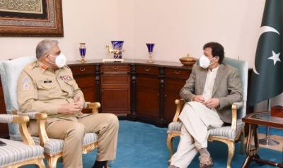 وزیراعظم عمران خان کی آرمی چیف سے ملاقات
