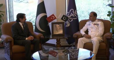 ترک سفیر کی نیول چیف ایڈمرل محمد امجد خان نیازی سے ملاقات