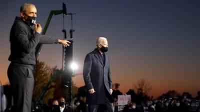 سابق امریکی صدر براک اوباما جوبائیڈن کی انتخابی مہم چلانے لگے