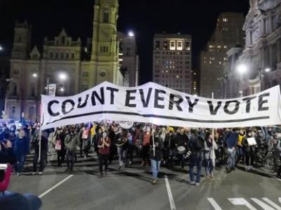 امریکی صدارتی انتخابات:جوبائیڈن اور ٹرمپ کے حامی سراپا احتجاج، 50افراد گرفتار