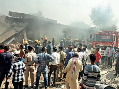 بھارت:کیمیکل کے گودام میں دھماکا، خواتین سمیت 12 افراد ہلاک