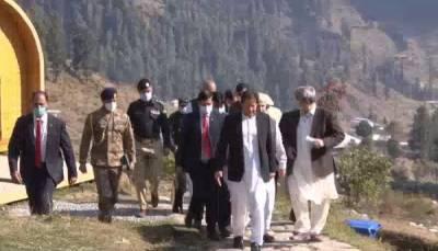 وزیر اعظم عمران خان کا سیاحتی مقام گبین جبہ, سوات کا دورہ, صوبے بھر میں سیاحت کے فروغ کیلئے اٹھائے گئے اقدامات بارے تفصیلی بریفنگ دی گئی