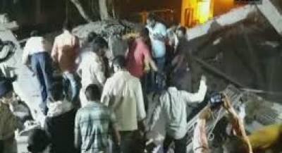 بھارت:راجستھان میں زیرتعمیرعمارت کی چھت گرنے سے 8افراد ہلاک،متعدد زخمی