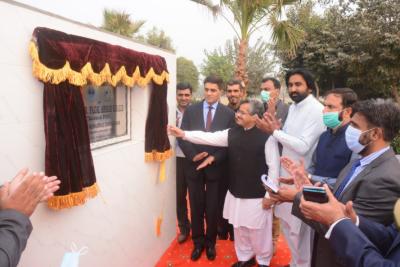 پنجاب ہائیر ایجوکیشن کمیشن کے چیئرمین نے اوکاڑہ یونیورسٹی میں اسمارٹ یونیورسٹی پراجیکٹ کا افتتاح کر دیا