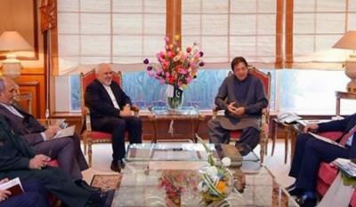 وزیراعظم سے ایرانی وزیرخارجہ کی ملاقات، دوطرفہ تعاون پر تبادلہ خیال