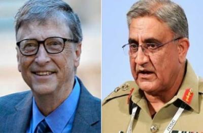 آرمی چیف اور بل گیٹس کا ٹیلیفون پر رابطہ، پاکستان سے پولیو کے خاتمے تک ملکر کام جاری رکھنے کا اعادہ