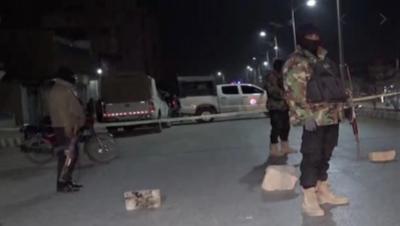 کوئٹہ: پولیس موبائل پر دستی بم حملہ، 3 پولیس اہلکاروں سمیت 5 افراد زخمی