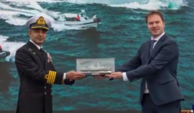پی این ایس تبوک کی پاک بحریہ میں شمولیت