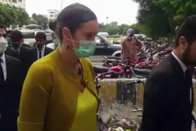 اسلام آباد ہائیکورٹ:سنتھیا ڈی رچی کیس کی سماعت کرنے والا بینچ تبدیل