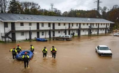 امریکا میں سیلاب سے تباہی، 7 افراد ہلاک