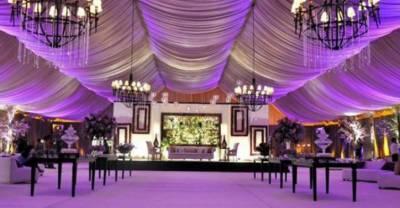 کمشنر کراچی نے بینکوئٹ اور شادی ہالز کو کام کرنے کی مشروط اجازت دے دی